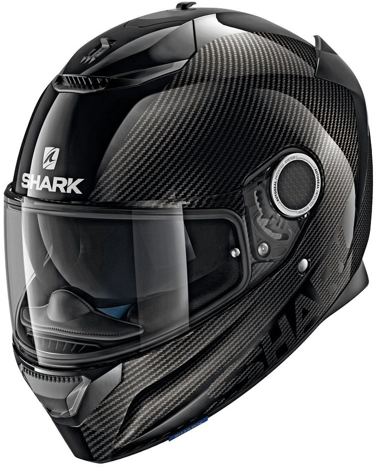 casco spartan carbon integrale shark in fibra e carbonio carbonio ebay. Black Bedroom Furniture Sets. Home Design Ideas