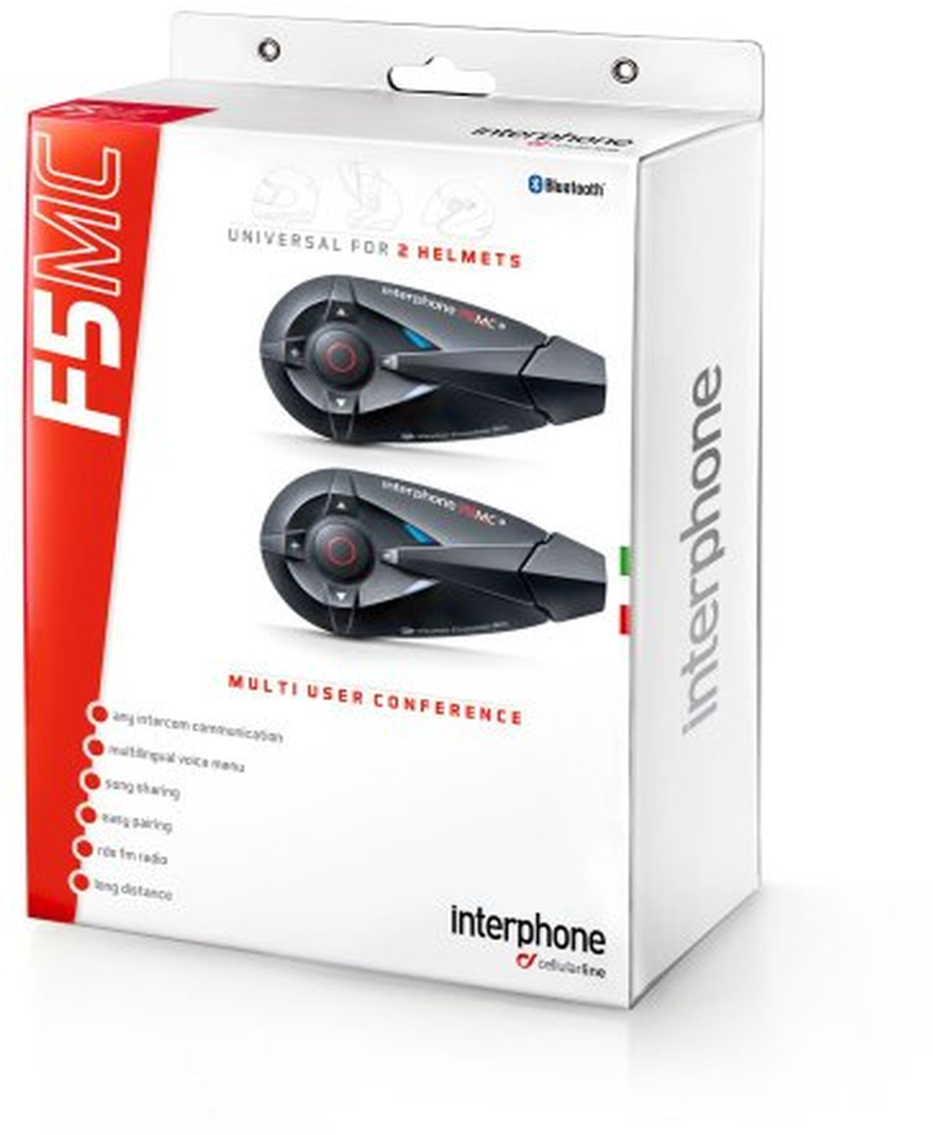 INTERPHONE F5MC KIT 2 PEZZI