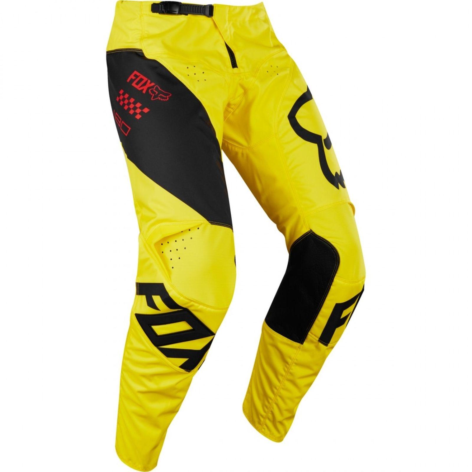 2018/Fox 180/Mastar Pant giallo
