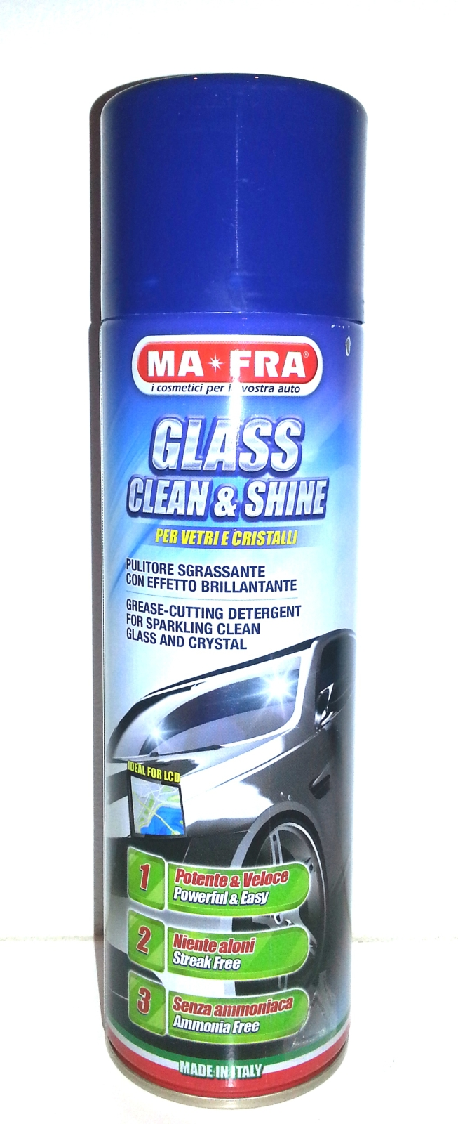 PULITORE VETRO GLASS CLEAN & SHINE