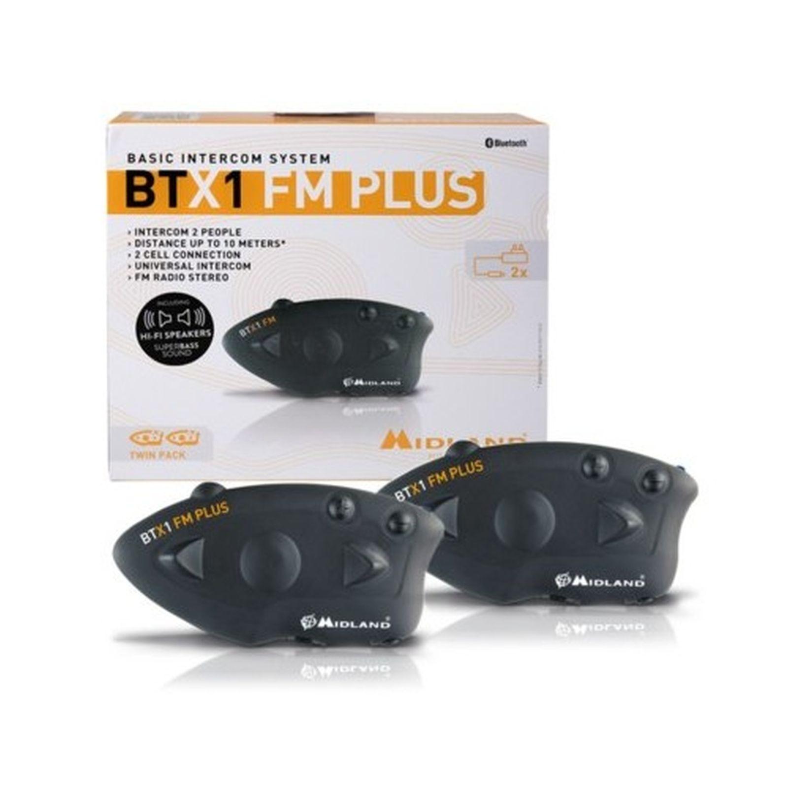 BT X1 FM PLUS CON HI-FI SPEAKERS TWIN