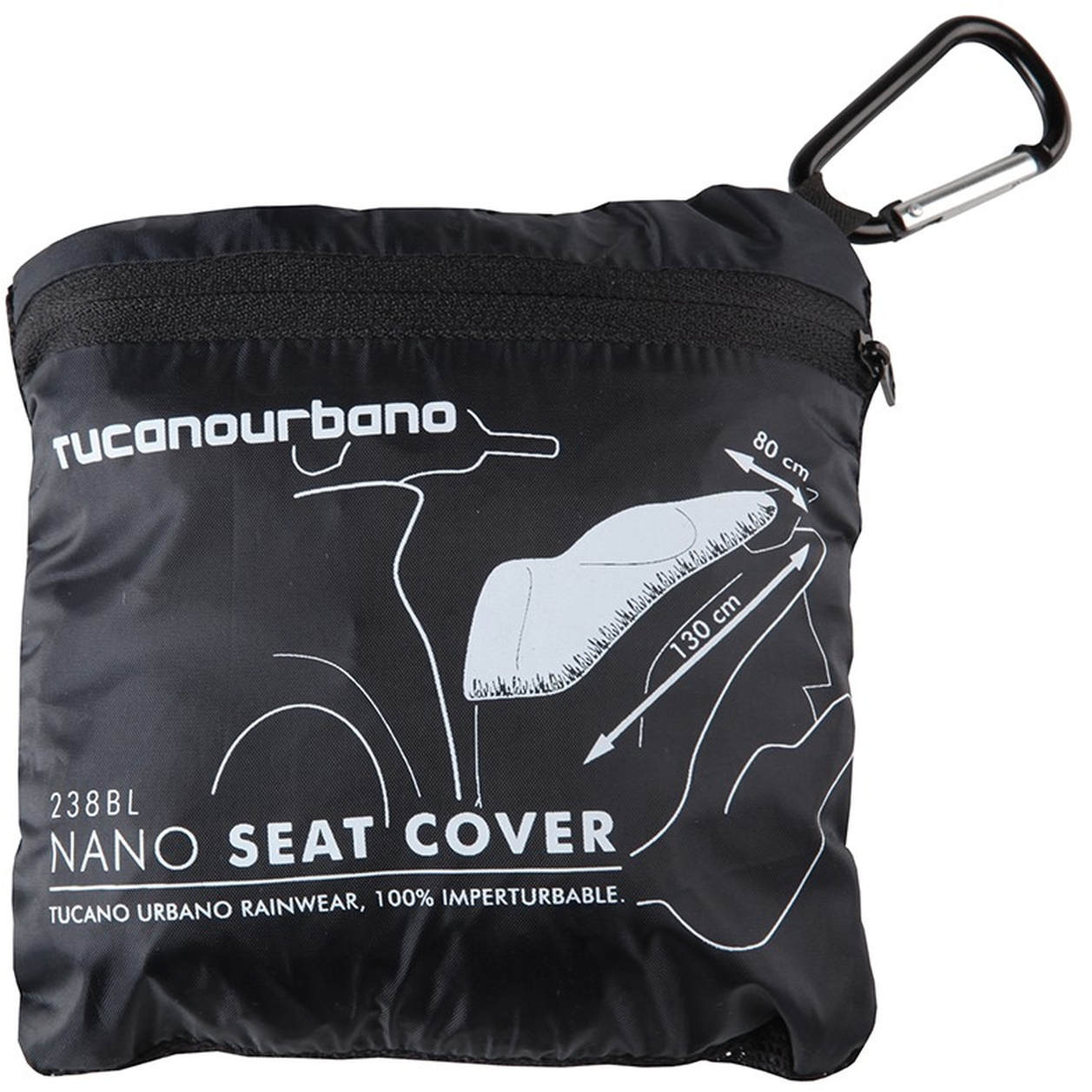 NANO SEAT COVER - MEDIUM - BLUE LIGHT